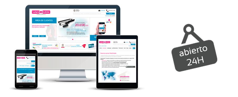Telecocable ya es responsive nuestra web adaptada para for Primicias ya para movil