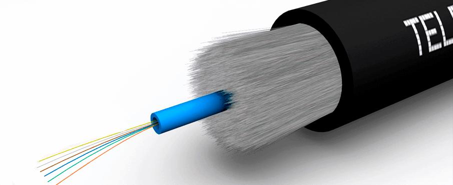 foto cable de fibra óptica