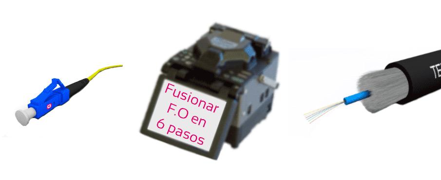 Fusionar fibra óptica