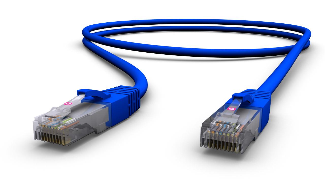 Latiguillo utp lshf categoria 6 azul 568b - Cable ethernet categoria 6 ...