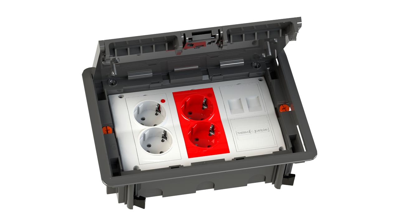 Cajas de datos de superficie empotrar o de suelo for Bancos y cajas con clausula suelo