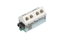 Micro switch Fast ethernet 5P RJ45 1 FO