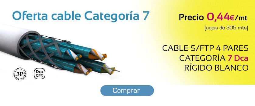 Oferta cable Categoría 7
