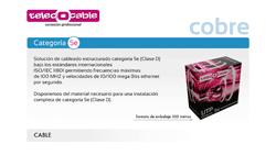 catálogo cobre TelecOcable