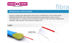 catálogo fibra TelecOcable