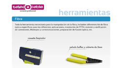 catálogo herramientas TelecOcable