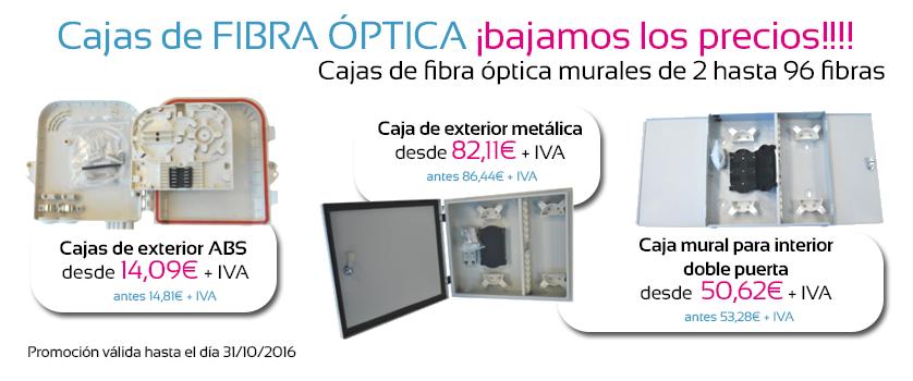 oferta cajas de fibra óptica
