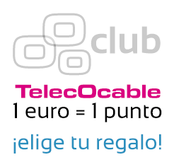 promo club TelecOcable 1€=1punto